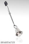 Pince clitoris Clochette : Pince ajustable ornée d'une clochette à fixer sur le clitoris.