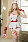 Déguisement sexy infirmière 8 pièces